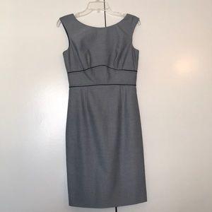 Nice gray dress!